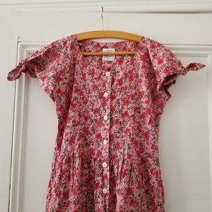 Vintage Laura Ashley floral jumpsuit